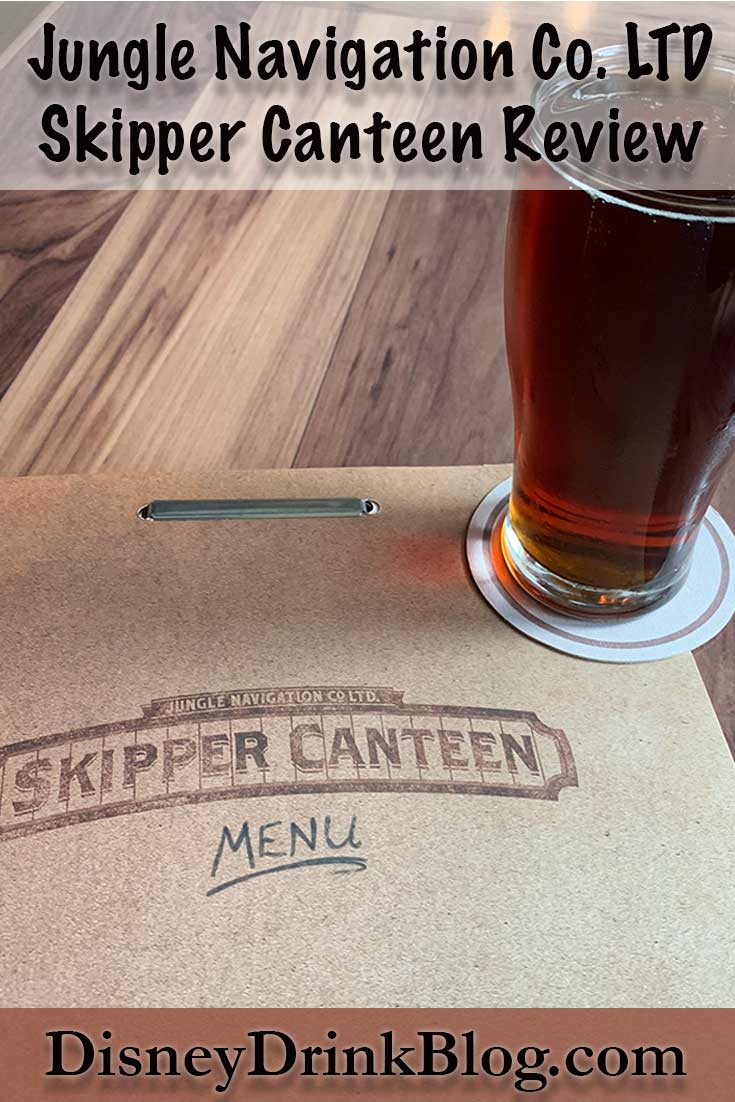 Jungle Navigation Co. LTD Skipper Canteen Review