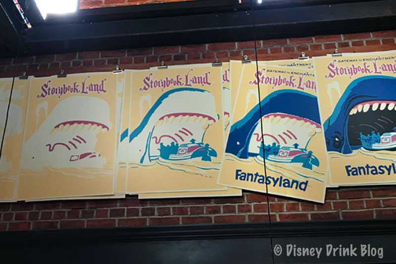 Disney's Hollywood Studios Baseline Tap House Artwork