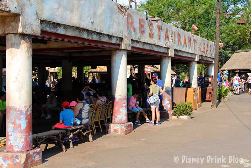 Disney Animal Kingdom Dawa Bar Review