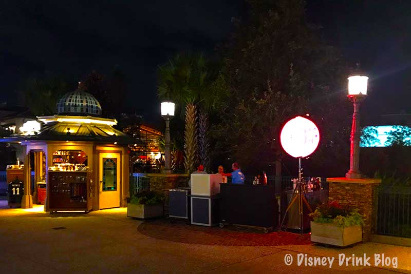 Disney World Pop Up Bars