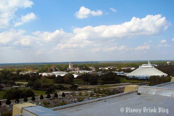 Disney's Contemporary Resort California Grill Lounge View