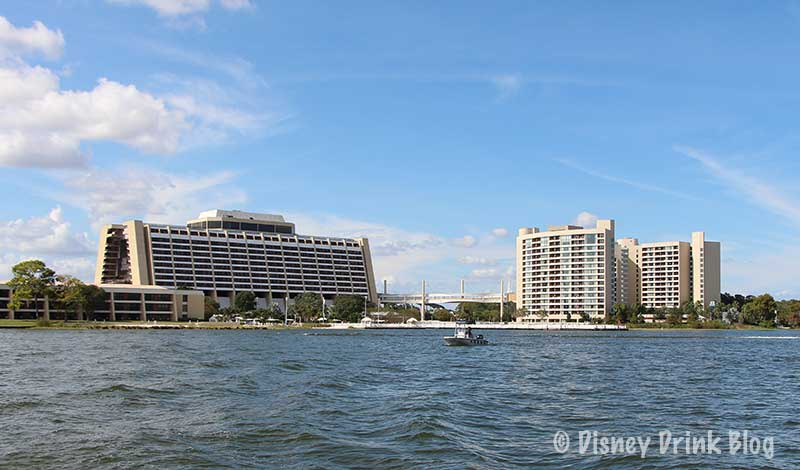 Disney's Contemporary Resort (left) and Bay Lake Tower