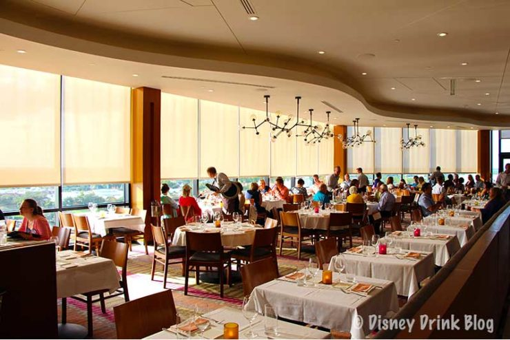 Disney's Contemporary Resort California Grill Lounge Review