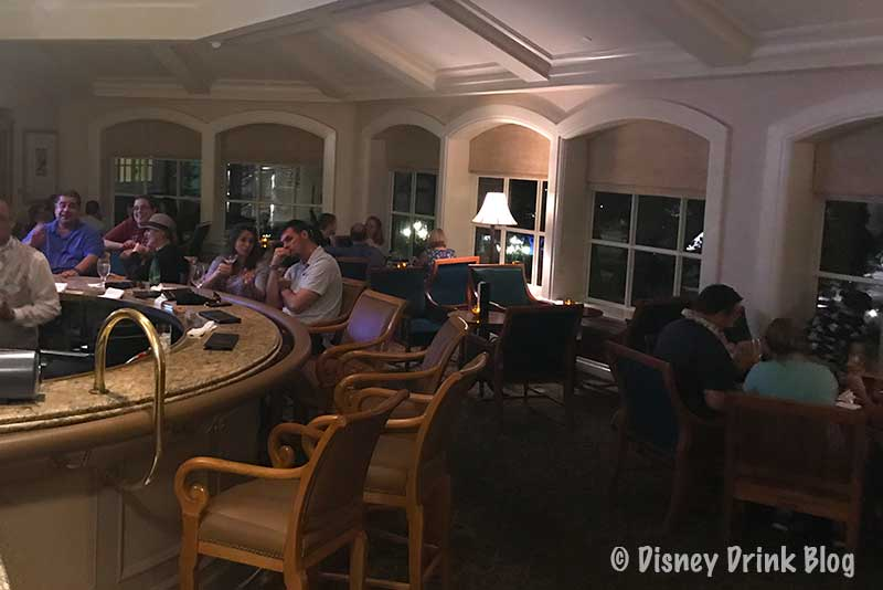 Disney's Grand Floridian Resort Mizner's Lounge Review