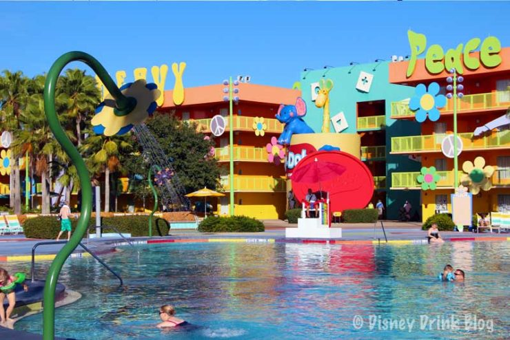 Disney's Pop Century and Art of Animation Resorts