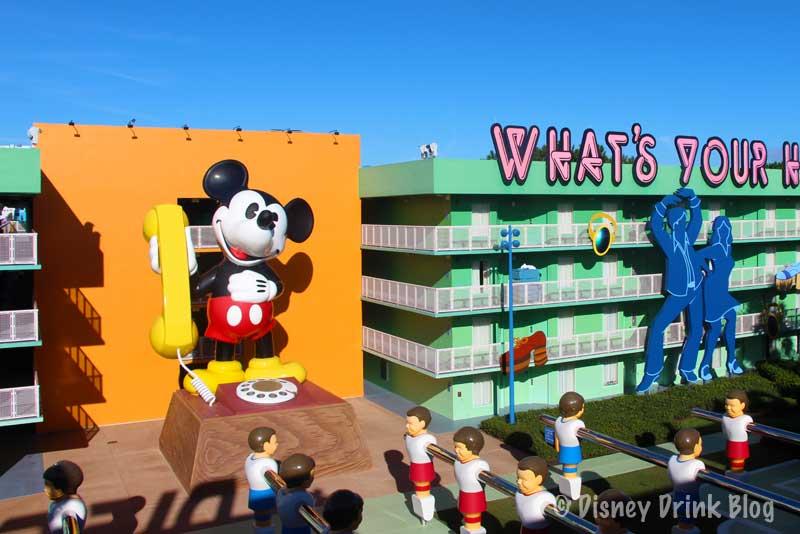 Disney's Pop Century and Art of Animation Resorts