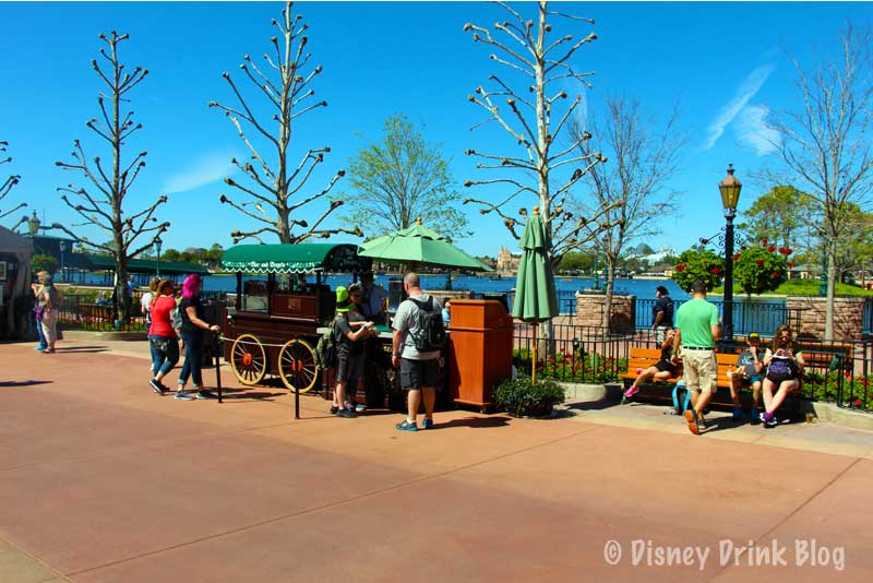 World Showcase Germany Bier und Brezeln Cart Review