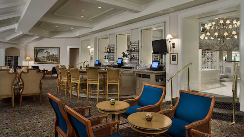 Disney's Grand Floridian Resort Mizner's Lounge (C) Disney