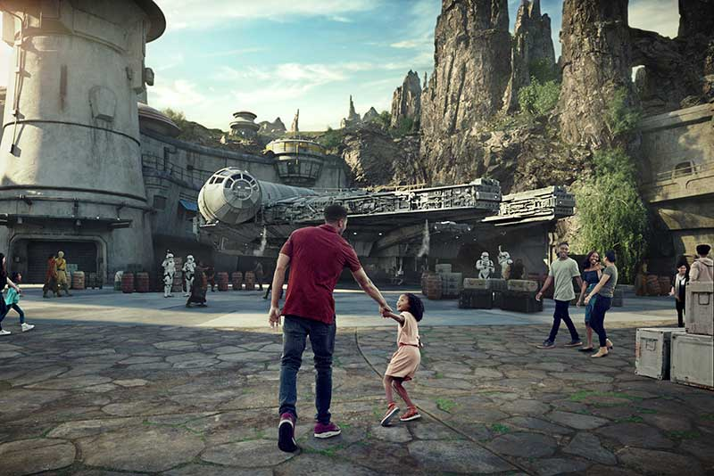 Disney's Hollywood Studios Star Wars: Galaxy's Edge Oga's Cantina (C) Disney/Lucasfilm