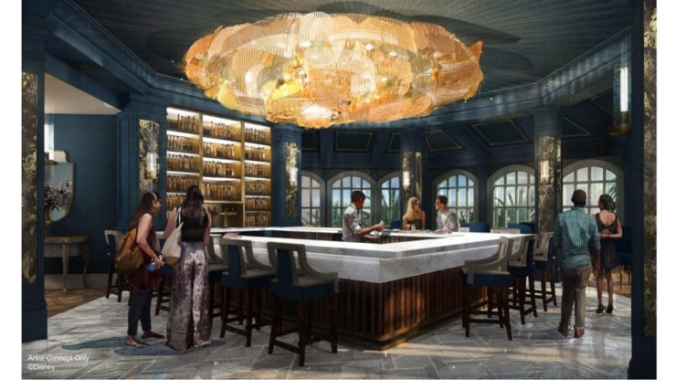 Beauty and the Beast Bar at WDW (C)Disney