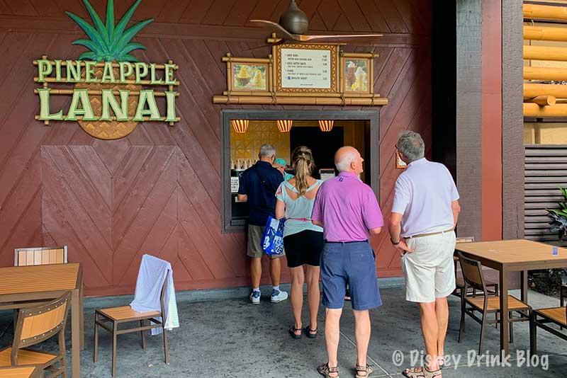 Disney's Polynesian Village Resort Pineapple Lanai