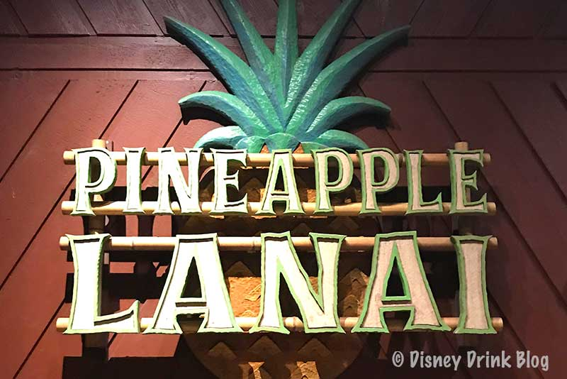 Disney's Polynesian Village Resort Pineapple Lanai