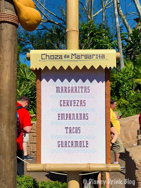 Epcot Choza de Margarita (Margarita Hut) Review