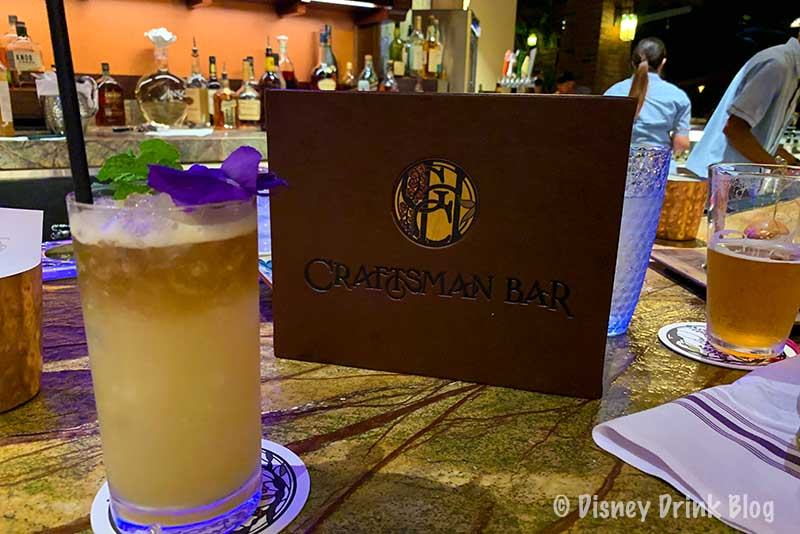 Disneyland's Grand Californian Hotel GCH Craftsman Bar Review