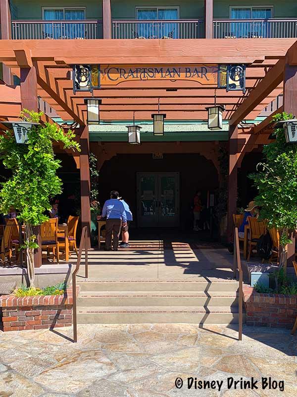 Disneyland's Grand Californian Hotel GCH Craftsman Bar Review