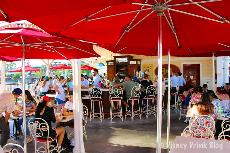 Disney California Adventure Lamplight Lounge Review