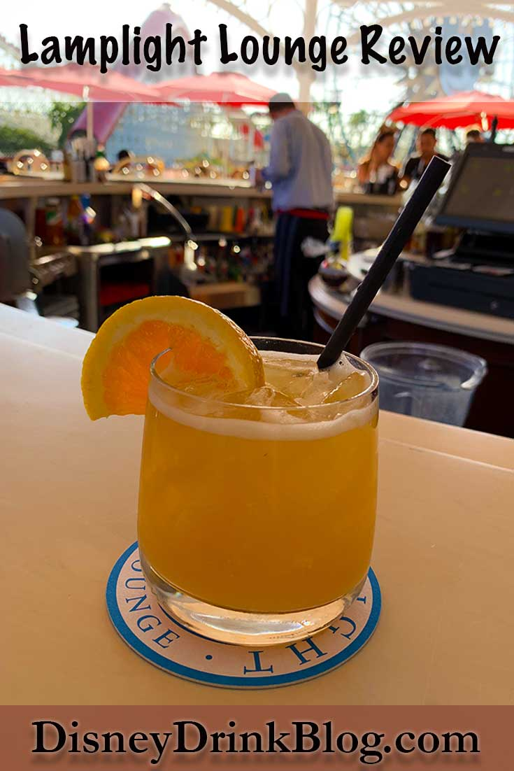 Disney California Adventure Lamplight Lounge Review